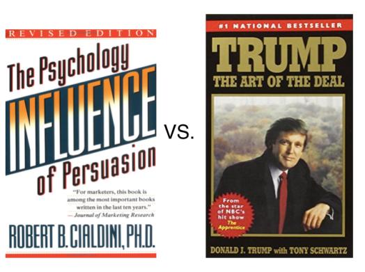 Cialdini vs Trump